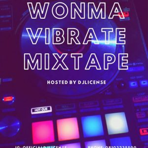 DJ License - Wonma Vibrate Mix