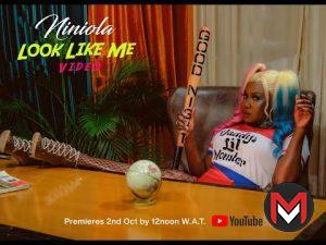 VIDEO Niniola - Look Like Me